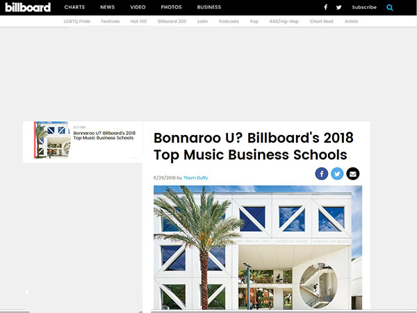 Billboard.com article