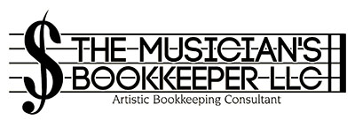 Musicians Bookkeeper Logo
