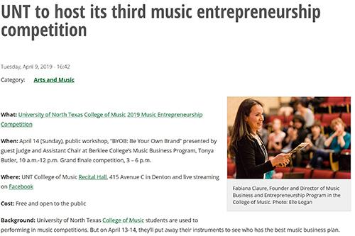 Press | Music Business and Entrepreneurship